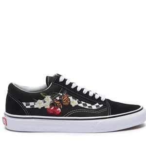 Vans Butterfly Cherry Old Skool Floral Shoes
